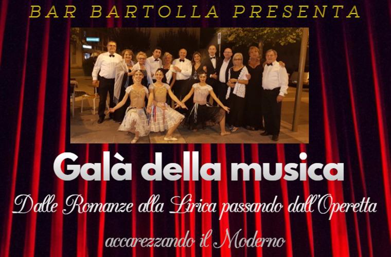 Galà della musica al Bartolla caffè di Campiano