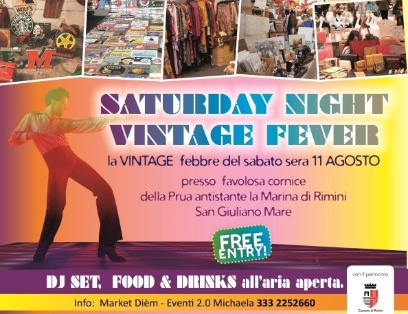 Saturday Night Vintage Fever