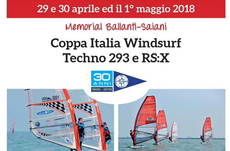 Coppa Italia Windsurf Techno 293 e RSX