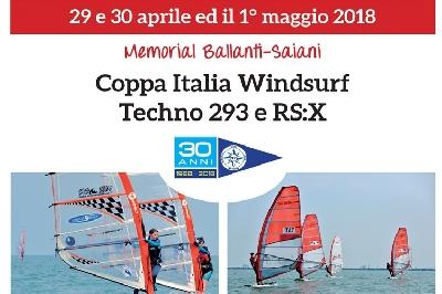Coppa Italia Windsurf Techno 293 e RSX
