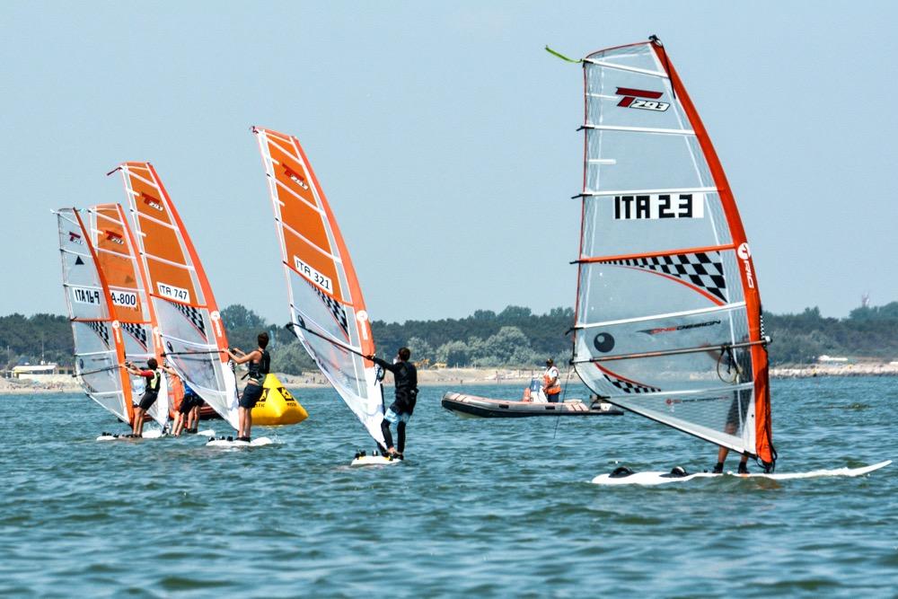 2 medaglie europeee alla seconda tappa della Coppa Italia di Windsurf