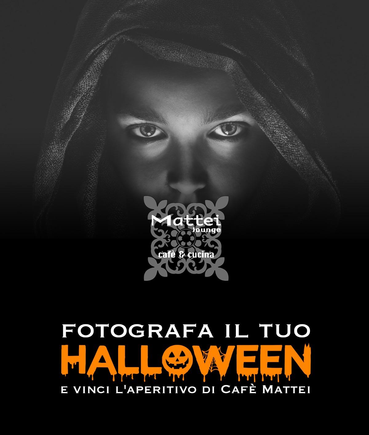 Fotografa il tuo Halloween e Vinci l'aperitivo Mattei!