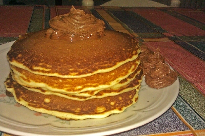 Pancake al Cioccolato Fondente