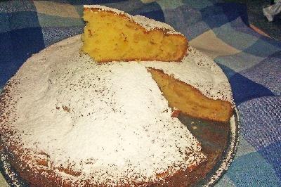 Torta di Mele, Mascarpone e Pinoli