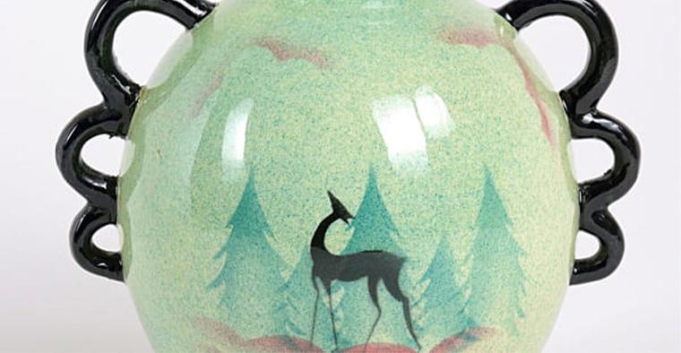 Le ceramiche decorate ad aerografo della Donazioni Levi