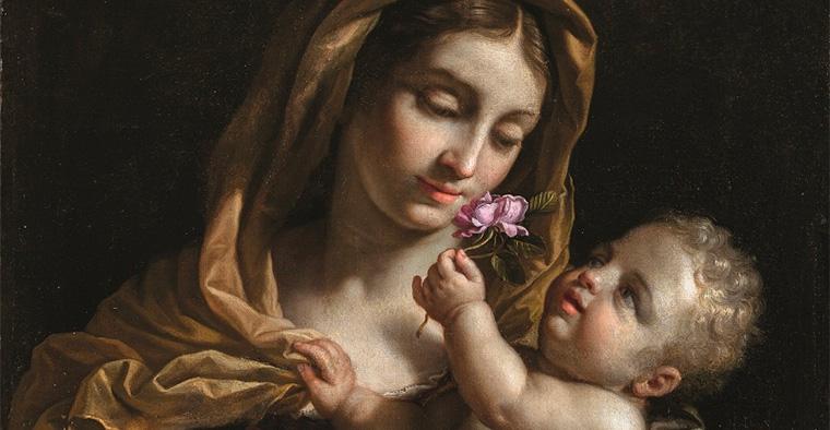 Mostra su Benedetto Gennari: Una Madonna col bambino per la corte d'Inghilterra