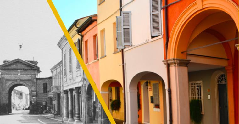 Punti di vista: le mura e le case, il centro storico di Cesena da Paolo Monti a oggi
